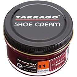 Tarrago Shoe Cream Jar, Zapatos y Bolsos Unisex Adulto, Morado (Burdeaux 11), 50 ml