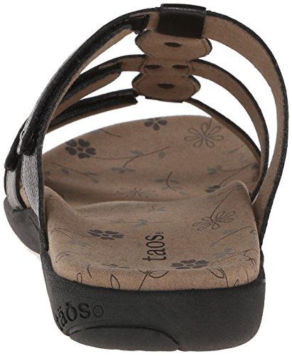Taos Prize 2 Cuir Sandales Black