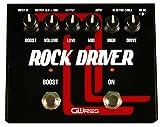 GWIres GWRD2 - Pedal multiefecto para guitarra (overdrive, turbo, derivación), color negro