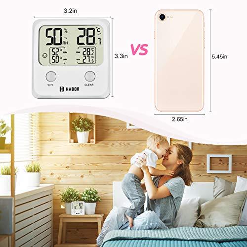 Zoom IMG-1 habor igrometro termometro digitale per