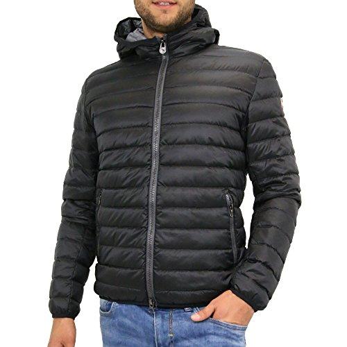 1277 1MQ99 Piumino 100 g da uomo colore nero con cappuccio Nero 48