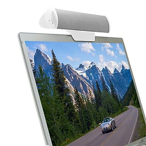 PC-Lautsprecher USB / Soundbar für Ihren Computer / Laptop Stereo Speaker für Lenovo Miix Ideapad HP Notebook Asus Yoga Book MacBook Pro Air Acer Odys Dell MacBook und mehr - Von
