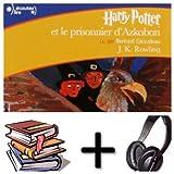 Harry Potter, III : Harry Potter et le prisonnier d'Azkaban Audiobook PACK [book + 2 CD MP3] (French Edition)