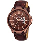 Eddy Hager Brown Day & Date Men's Watch EH-164-BR