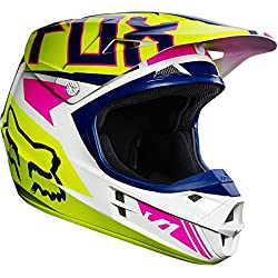 Casco Fox V1 Falcon Amarillo Talla XL