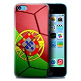 Coque de Stuff4 / Coque pour Apple iPhone 5C / Portugal Design / Nations de Football...