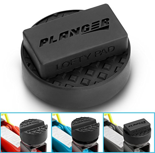 PLANGER ® - Wagenheber Gummiauflage (für BMW, Mini, Mercedes-Benz & Opel) auf Rangierwagenheber - Schützt PKW und SUV durch Form und Gummi