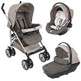 Chicco Trio Sprint - Silla de paseo, color gris