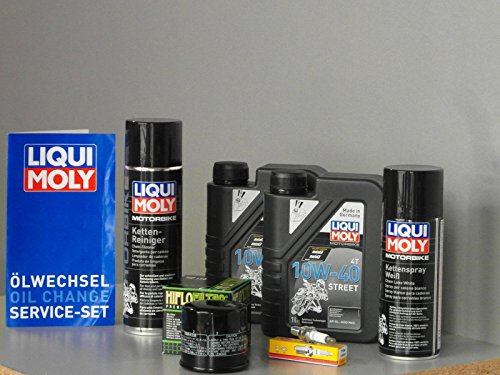 Wartung und Service Set für Quad Suzuki LTR 450 Ölfilter, Zündkerze, Oel, Ketten (Suzuki Quad öl)
