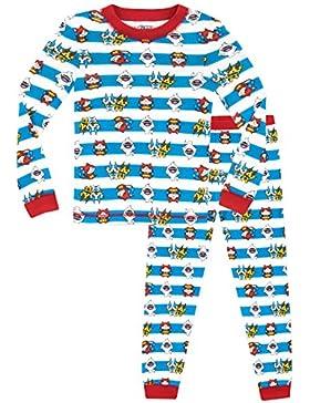 Yo-kai Watch - Pijama para Niños - Yokai Watch - Ajuste Ceñido