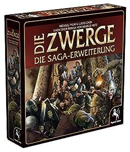 Pegasus Spiele 51940G - Die Zwerge Saga Erweiterung, limitierte Erstauflage