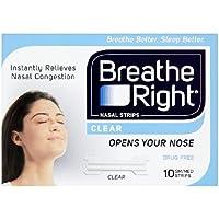 Breathe Right Nasenstreifen Klar 10 der 10 pro Packung preisvergleich bei billige-tabletten.eu