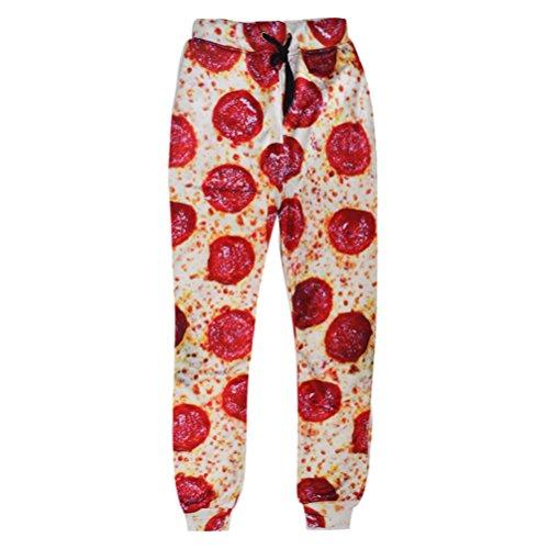 unideazone-unisex-sport-pants-funny-3d-digital-printed-pizza-jogger-sweatpants