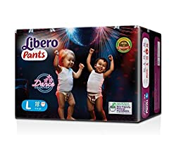 Libero Large Size Diaper Pants (18 Counts)