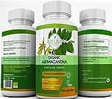 Next Gen U | Organic Ashwagandha Veggie Tabletten | 120 Glutenfrei Vegan Kapseln | Stress Relief Anti Angst | Soil Association und Vegan Society Zertifiziert | Ayurveda Rezept - Withania Somnifera