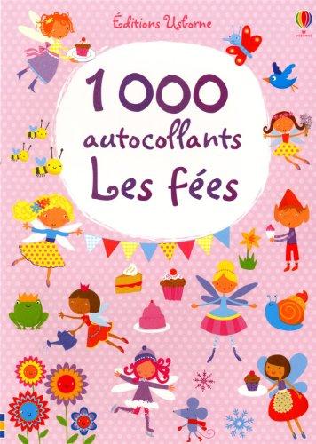 1000 AUTOCOLLANTS LES FEES par FIONA WATT