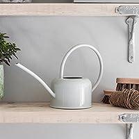 Tutti Decor Garden Trading 1.1L Indoor Watering Can in Chalk - Galvanised Steel- Indoor plants herbs