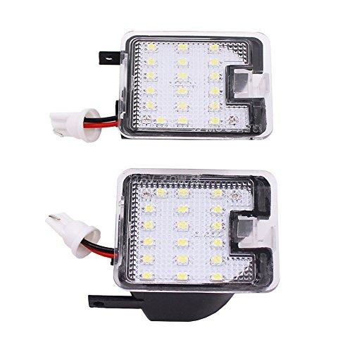 Preisvergleich Produktbild Spiegel Pfütze Lichter 2x High Bright LED 2W SMD Seitenspiegel Pfütze Lichter für Ford Fokus 2015 bis Kuga