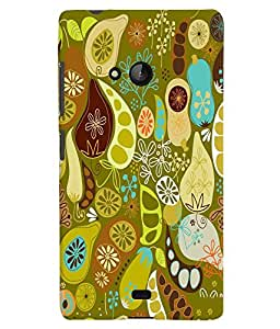Citydreamz Abstract Hard Polycarbonate Designer Back Case Cover For Microsoft Nokia Lumia 540