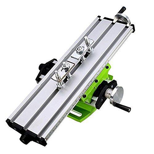 AMYAMY Piano di lavoro multifunzione fresatura Croce tavolo di lavoro fresatrice Compound Foratura di traslazione per la regolazione del banco Drill X-Y (6300 SIZE)