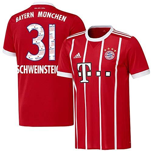Bayern München Home Danke Bastian Schweinsteiger 31 Trikot 2017 2018 - L