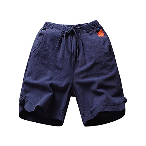 MOIKA Günstig Herren Shorts, Slim Strand Hosen Linen Hose Everyday Shorts Sportshorts Knielang Kurze Hose Shorts Bermuda Herren Hose Shorts Kurzhose Sporthose Casual Shorts Regular Fit