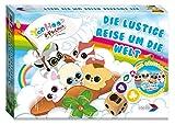 noris Spiele 606017350 - YooHoo and Friends - Die lustige Reise um die Welt, Brettspiel