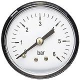 AWM Hauswasserwerk Manometer Druckanzeige, 1/4 Zoll, AM-HWW-MM