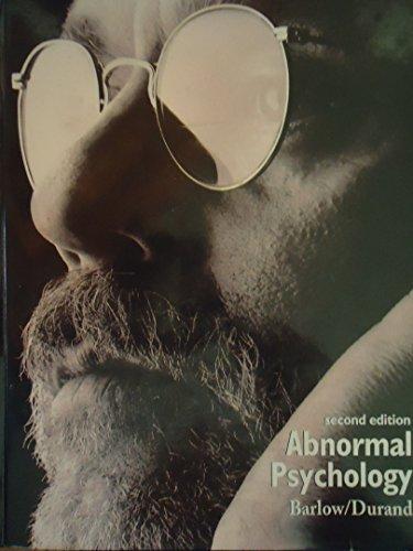 Abnormal Psychology: An Integrative Approach par David H. Barlow