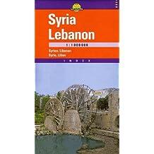 Carte routière : Syrie - Liban, N° 6924
