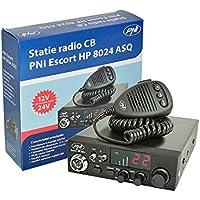 CB Radio PNI Escort HP 8024 einstellbar ASQ, 12V - 24V, 4W AM/FM