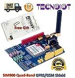 SIM900 GPRS/gsm Shield Development Board Quad-Band Module with Antenna + gift | SIM900 GPRS / gsm Shield Scheda di sviluppo Modulo quad-band con antenna + regalo