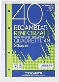 Blasetti 2328-80g/m² 40fogli carta milllimetrata
