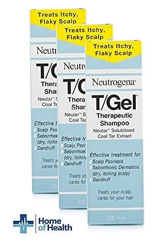 Neutrogena T/GEL Therapeutic Shampoo 125ml **3 PACK DEAL**