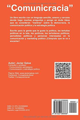 Comunicracia: Si te gusta la política y la comunicación ¡Éste es tu libro!