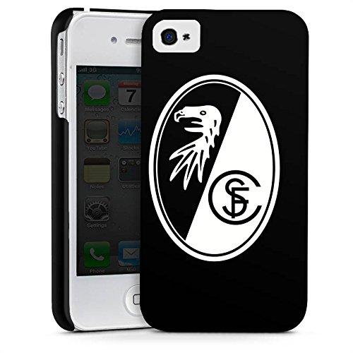 Apple iPhone 6 Hülle Case Handyhülle SC Freiburg Fanartikel Fussball Premium Case glänzend