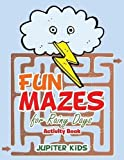 Fun Mazes for Rainy Days Activity Book
