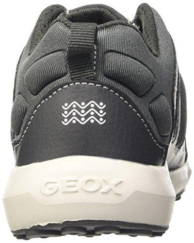 Geox J Asteroid Boy B, Scarpe da Ginnastica Basse Bambino Grau (DK GREYC9002)