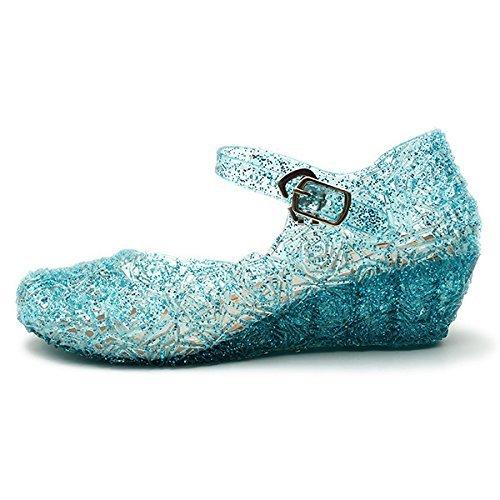 Sandalias de vestir para niña Azul azul claro