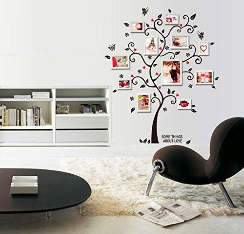 ufengke® immagine creativa albero photo frame adesivi murali ... - Stickers Murali Camera Da Letto