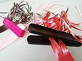 2Stück, stabiler Band Shredder Curler mit Metall Zähne Klinge (doppelt) X 1und doppelt Seiten Band Aktenvernichter Wimpernzange Werkzeug X 1