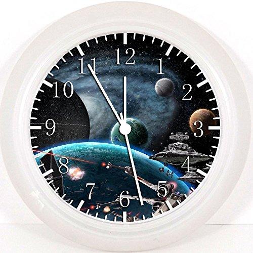 Star Wars Dans l'espace Horloge murale 25,4 cm joli cadeau et de Chambre Décoration murale 50