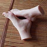YH-foot Silikon Füße Modell, Silikon Mannequin Fuß, 36A Mädchenfußmodell Fußkultur Kunstmodell-Simulationsfuß -