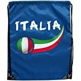 Supportershop Italy Sports Bag - 44 x 33cm - Royal Blue