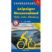 Fahrradkarte Leipziger Neuseenland: Mit UTM-Gitter für GPS. Maßstab 1:75.000. Wasser- und reißfest. (Fahrradkarten)