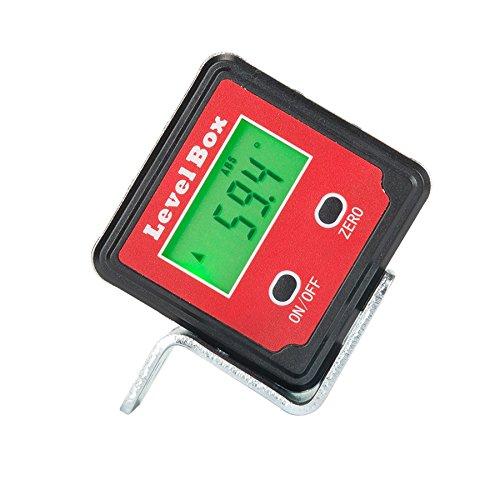 CO-Z Digital Winkel Messgerät Winkelmesser Angle Gauge Level Box mit Magnet Hintergrundbeleuchtung