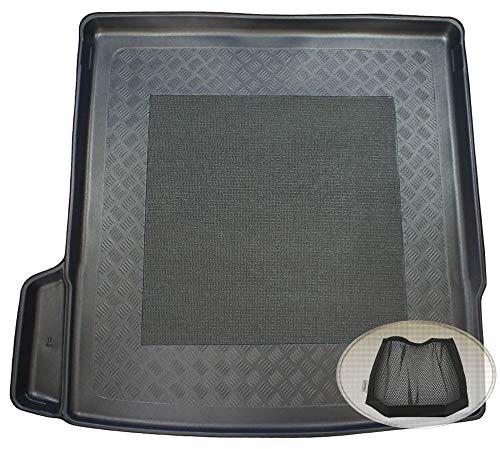 ZentimeX Z3024522 Antirutsch Kofferraumwanne fahrzeugspezifisch + Klett-Organizer (Laderaumwanne, Kofferraummatte)