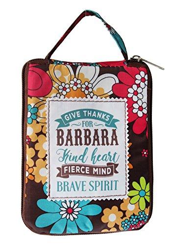 History & Heraldry H & H Handy-Lass Handtasche/Shopper-Tasche mit Tasche–Personalisiert mit Namen Barbara