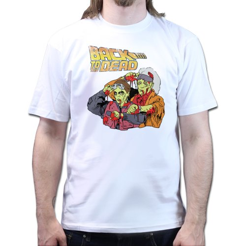 Back to the Dead Future Zombie T-shirt
