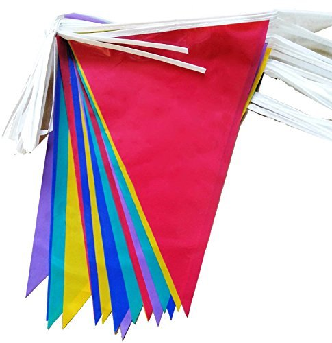 Heaton Party 10-metre Pvc Double-sided Bunting - 20 Flags